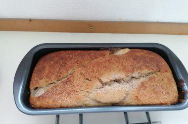 banana bread sans beurre par Hervécuisine :)