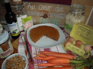 Carrot cake revisité par Papote